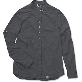 Klättermusen W's Tyr Shirt Dark Grey